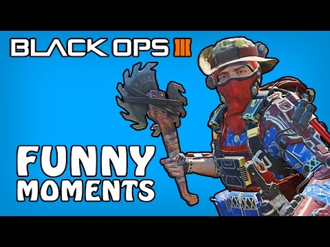 Black Ops 3 Funny Moments - Buzzcut Glitch, Drunk Pixel, Blackjack Dude! (BO3 Funny Moments)