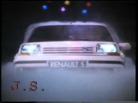 Renault 5 - Werbung 1989 (Dominoe - Here I Am)
