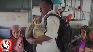Debt-Ridden Farmer Begs On Mumbai Local Trains To Repay Bank Loan
