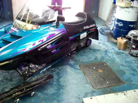 POLARIS INDY EDITION LIMITED SP XLT 600 1997 MOTONEIGE. SKI DOO. SNOWMOBILE. 001.MOV