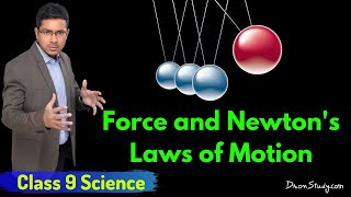 Force and Newton's Laws of Motion : CBSE Class 9 IX Science