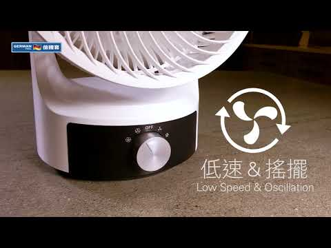 360° Air Circulator Fan EFS-3608 Operation