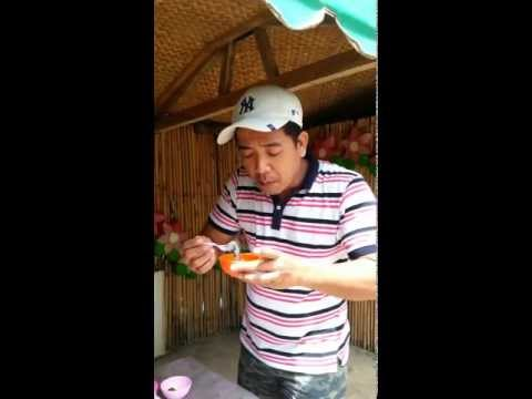 How to eat (Tamilok) Wood Worm in Palawan Dilicacy.mp4
