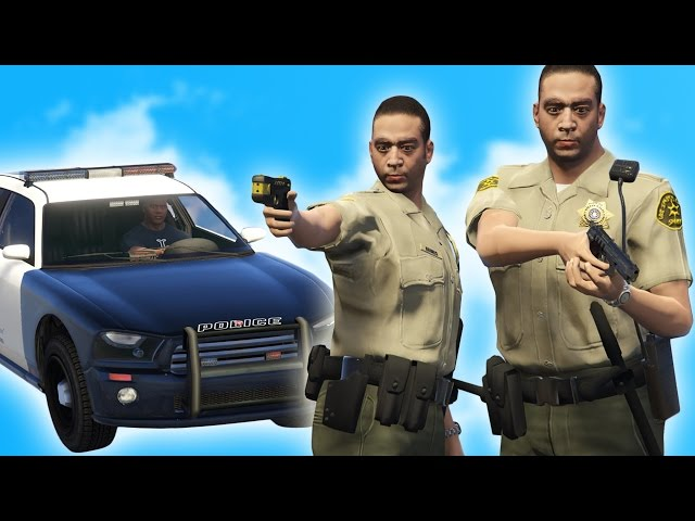 GTA 5 ROLEPLAY - LET'S BE COPS!