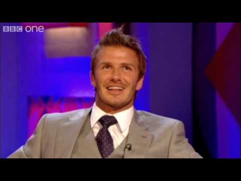 David Beckham is a bit OCD - Friday Night with Jonathan Ross - BBC One