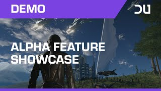 Dual Universe - Alpha Feature Showcase