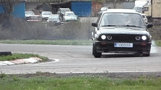My BMW E30 Coupe. Track day car ///