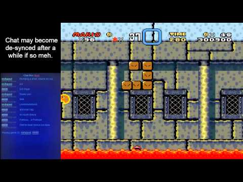 Super Mario World - Super Lario Brothers (SMW) Part 2 - User video