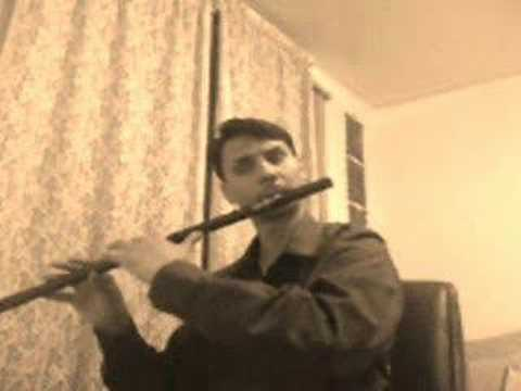 Indian Devotional  Melody Bass Flute (Bansuri)