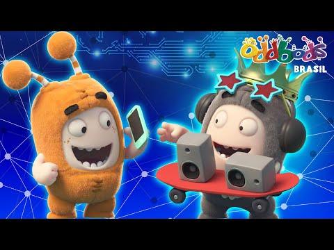 Oddbods | LOUCO POR TECNOLOGIA | Desenho Animado Divertido Para Crianças