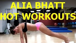 Alia Bhatt hot Workouts in Gym Video