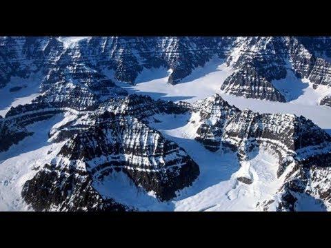 Карьеры Антарктиды.  Следы предыдущих цивилизаций и  естественное разрушение гор .