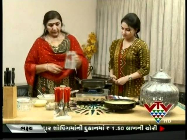 VTV - TASTY JOURNEY - RABDI WITH MALPUVA - 2 DAXABEN BHUVA
