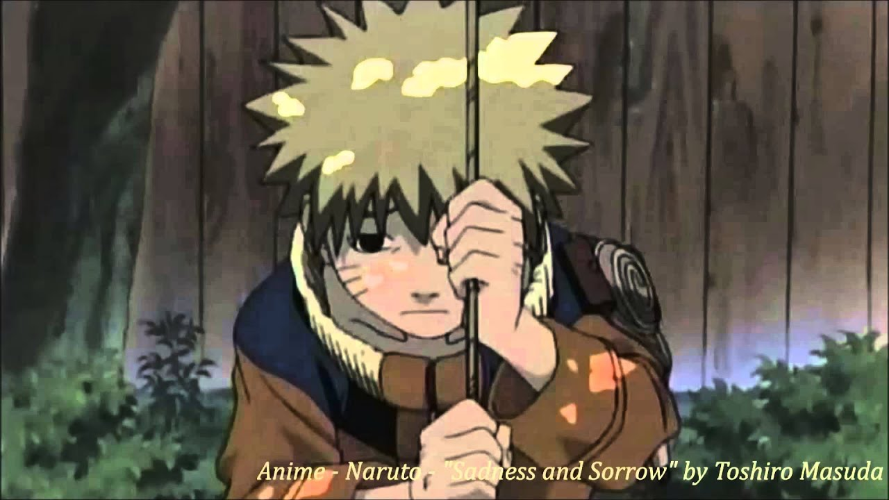 Naruto Sadness And Sorrow Anime - Naruto -   Sadness and