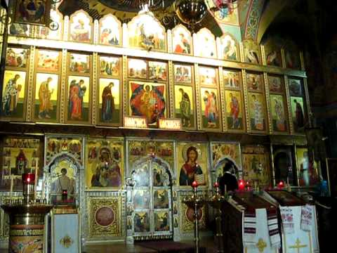 Oca russian orthodox church outside