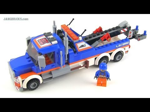 LEGO City 2014 Tow Truck set 60056 Review!