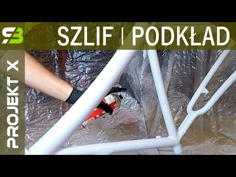 Rower Za 1500 Zł - Szlifowanie I Podkład Ramy Cannondale F600 - Malowanie Roweru.