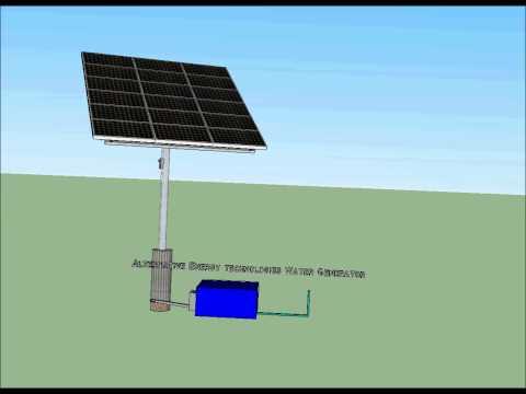 ALTERNATIVE ENERGY TECHNOLOGIES SOLAR WATER GENERATOR