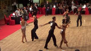 2018 Festival danza Youth U19 Latin Final Cha cha cha