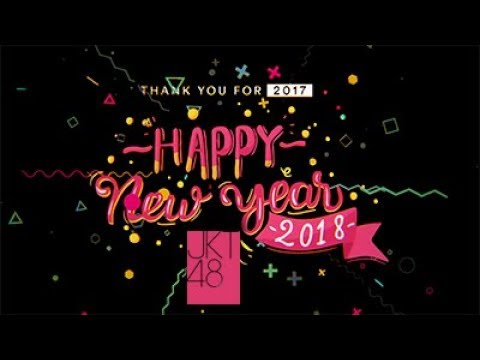 HAPPY NEW YEAR 2018!!