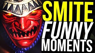 HACHIMAN IS THE BEST NEW HUNTER? (Smite Funny Moments)