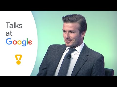 Google+David Beckham Interview