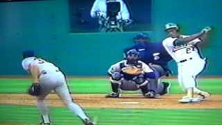 Rick Aguilera's Kick Save Gets Rickey Henderson By A Hair!