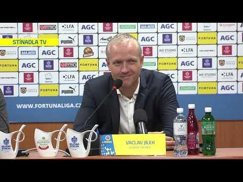 Tisková konference hostujícího trenéra po utkání Teplice - Sparta Praha (20.10.2019)