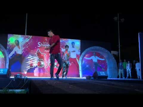 Raghav Juyal Performing On Vande Mataram video