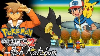 Pokemon White 2 Hack: Vs. Ash Ketchum
