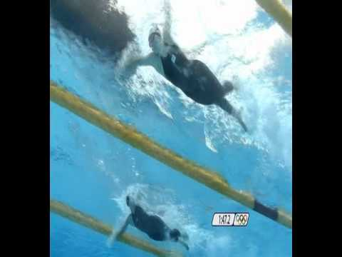 Rebecca Adlington underwater technique