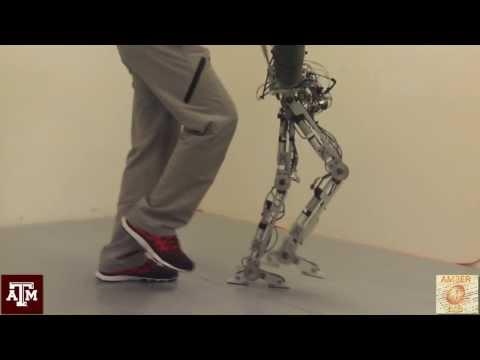 Human-Like Multi-Contact Walking with AMBER 2