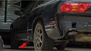 Offroad 240Sx Gets Custom Side Exit Exhaust!!!