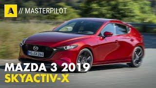 Mazda 3 Skyactiv X 2019 | Ibrida da 180 CV un po' diesel e un po' benzina