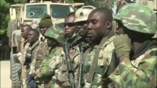 Nigerian army at the frontline