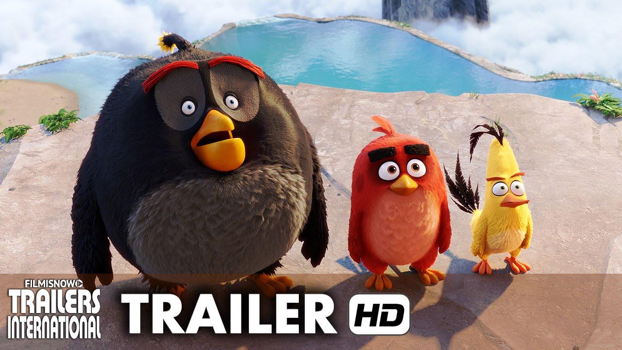 Angry Birds - O Filme Trailer Oficial #2 dublado - Animação [HD]