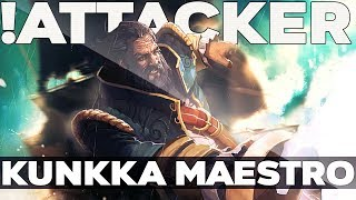 !Attacker World's Best Kunkka EPIC Gameplay Compilation Dota 2
