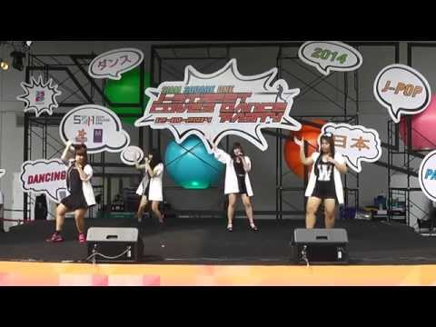 Kaze Cover Hello Project @ SIAM SQUARE 1 J-Street Cover Party 2014