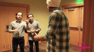 Greenroom Tour with Jensen, Jared, Richard and Rob by Supernatural !