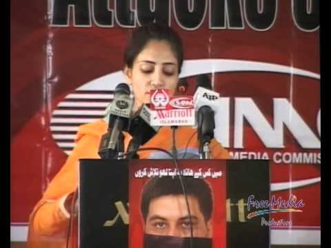 Attacks on Journalists and Media Freedom - Conference, Sadaf Arshad