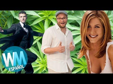 ¡Top 10 Celebridades Marihuaneras!