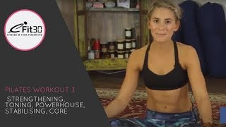 Pilates workout - Strengthening and toning