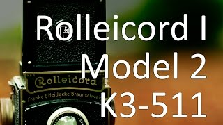 Rolleicord I, Model 2 Video Manual