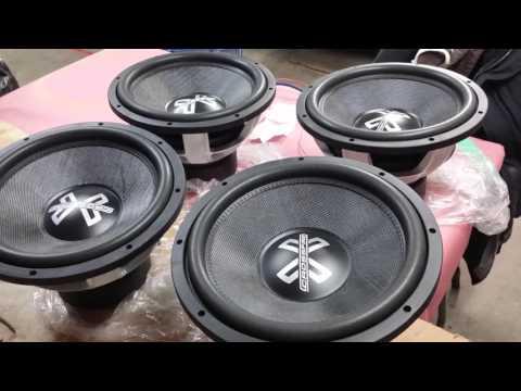 4 Crossfire C7 15s on 2 JL Audio 1200/1 v3's