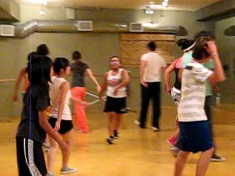 Victoria Justice, Avan Jogia, Jordan Francis and Sarah Francis dance class Video