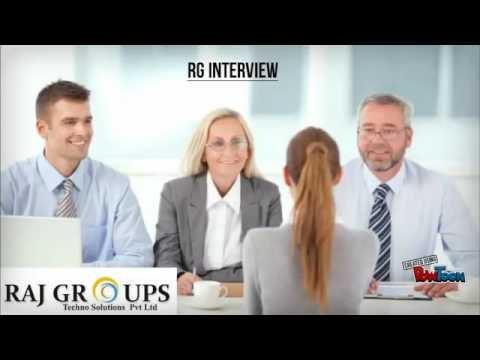 Raj Groups Recruitment steps with out voice