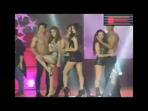 Ellen Adarna, Coleen Garcia And Arci Munoz In Sexy Number At Kapamilya Thank You Trade Event video