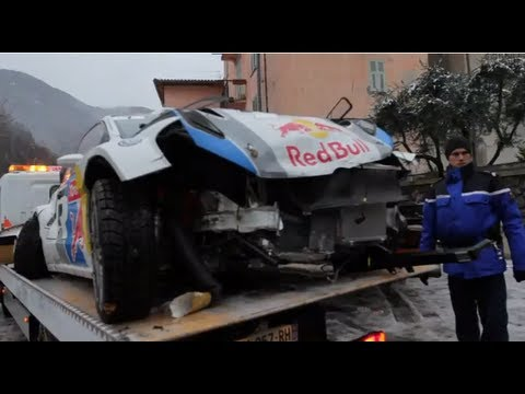 Jari-Matti Latvala crashes out on final day of Rallye Monte-Carlo 2013