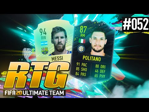 IS POLITANO THE CHEAP MESSI?! - #FIFA20 Road to Glory! #52 Ultimate Team