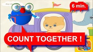 Learn to count NUMBER Part#2-Learn NUMBERS AND Play with Ari-Изучаем Цифры ВМЕСТЕ С АРИ !